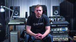 Drum and bass artist Break talks about creativity in his music studio