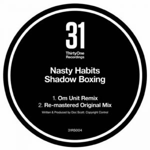 Artwork of Shadow boxing by Nasty Habits released on thirty one recordings in 2014