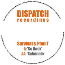 A cover for the release of Survival & Paul T on Dispatch Recordings